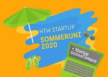 HTW Startup Sommeruni 2020 + Startup Online Campus