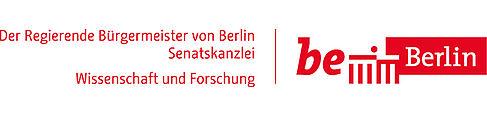 Logo der Stadt Berlin Senatskanzlei Wissenschaft und Forschung