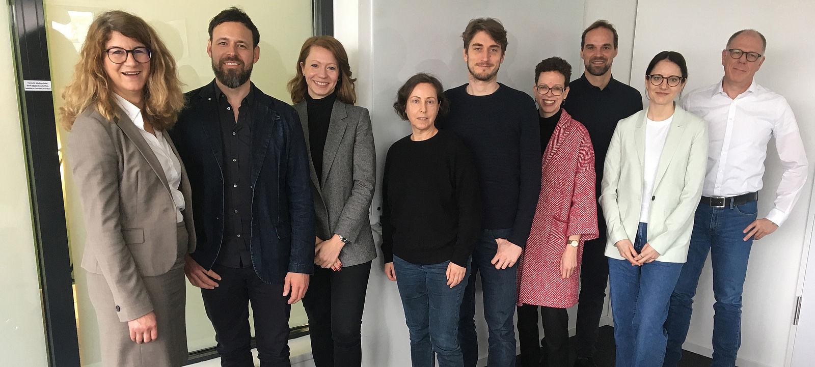 Gruppenfoto des Beirat Gründung